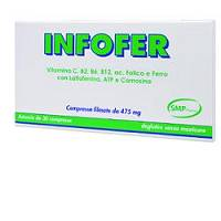 INFOFER Integratore 30 compresse 19,5 g