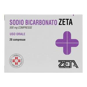 SODIO BICARB*20CPR 500MG